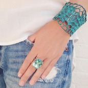 jewels,turquoise,turquoise bracelet,turquoise ring,big stone,stone ring,turquoise stone ring,Turquoise Stone,statement ring,statement bracelet,Arm Cuff,cuff,statement,summer outfits,summer accessories,beach look,beach jewelry,boho,boho jewlery,big,stone,turquoise jewelry,arm jewelry,statement necklace