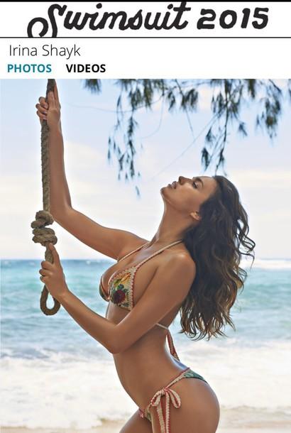swimwear irina shayk model