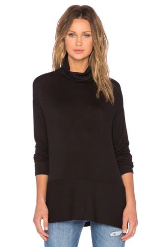 sweater turtleneck turtleneck sweater black