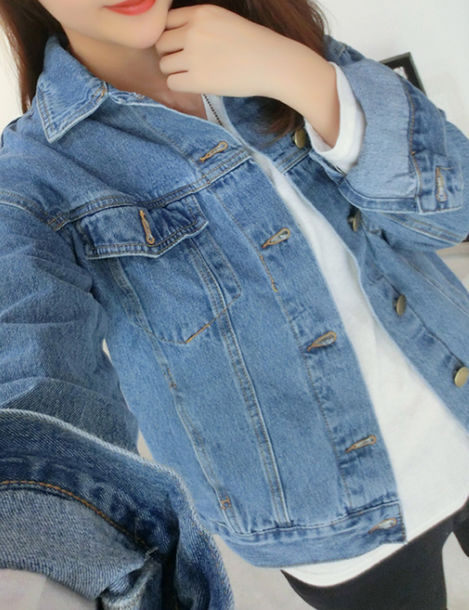 denim jacket outfits tumblr - photo #41