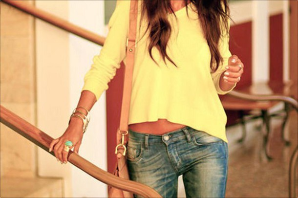 blouse yellow yellow top