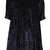 **Velvet Spangle Collar Dress by The WhitePepper - Dresses  - Clothing  - Topshop