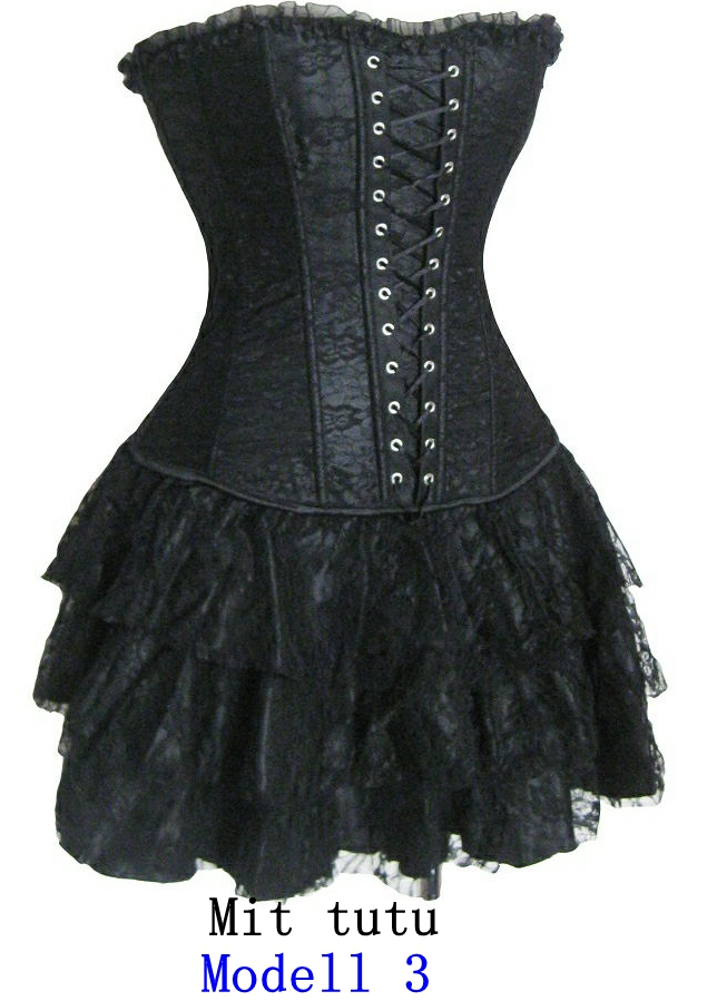 Brocade Gorgeous plastic boned lace up back Corset with mini skirt 2162, | eBay