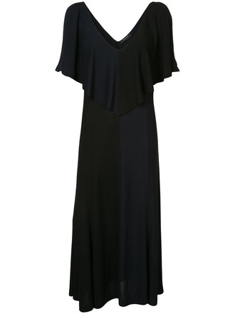 dress women cold black