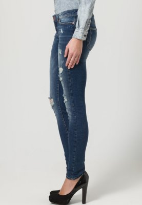 Noisy May APRIL - Jeans Slim Fit - medium blue denim - Zalando.de