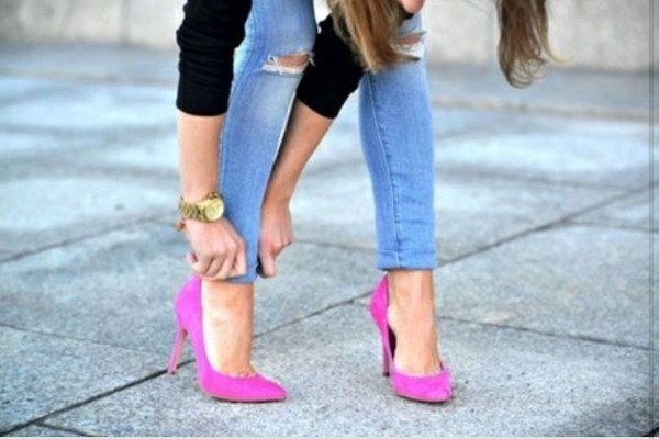 shoes escarpins hight heels pink high heels pink the flash flashy color/pattern fashion girly pretty beautiful heels