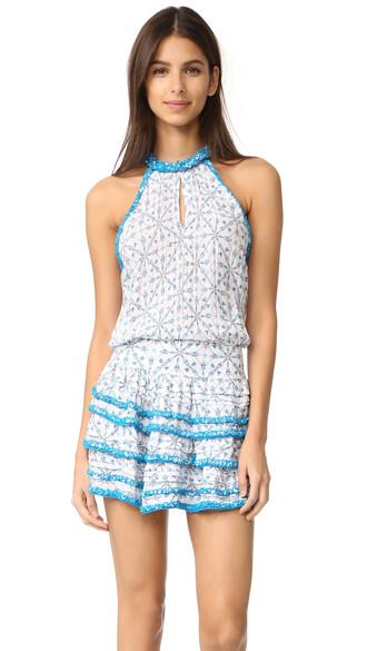 dress mini dress mini arrow aqua