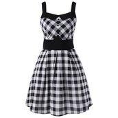 dress,mini dress,checked dress,plaid dress,single breasted dress,gingham