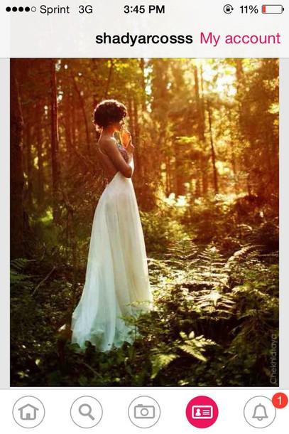 dress white white dress prom dress