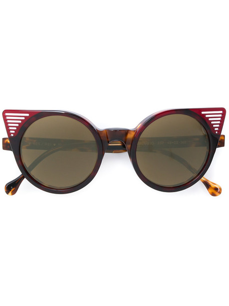Res Rei women sunglasses brown