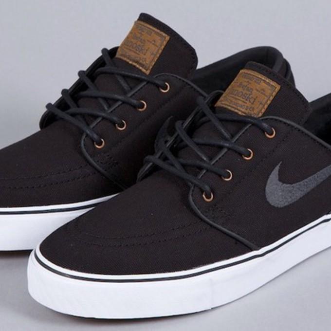 shoes nike nike stefan janoski janoski black nike stefan janoski brown