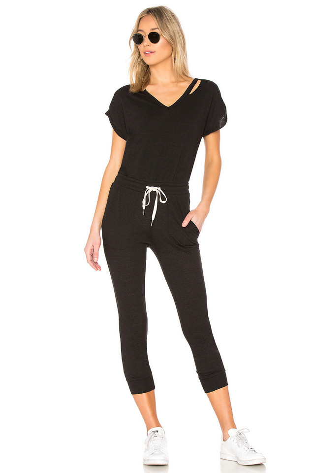 n:PHILANTHROPY Space Jumpsuit in black