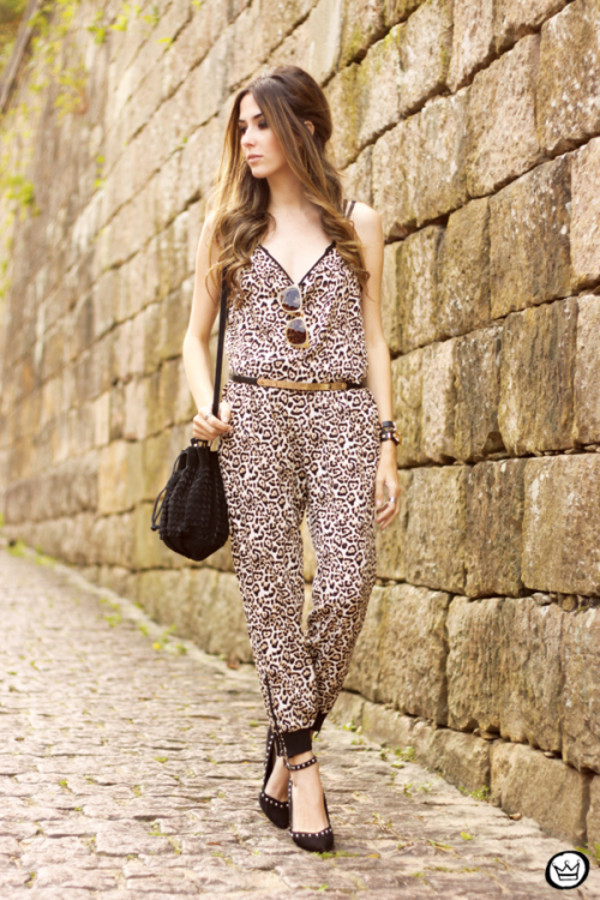 fashion coolture jumpsuit bag belt shoes