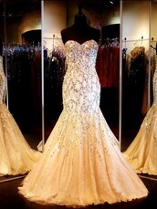dress,glitter,prom dress,beige,nude,sparkle,strapless,fashion,formal,homecoming dress,dressofgirl,girly,girl,girly wishlist,prom,prom gown,prom beauty,long prom dress,sequin prom dress