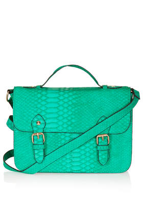 Snake Satchel - Bags & Wallets  - Bags & Accessories  - Topshop USA