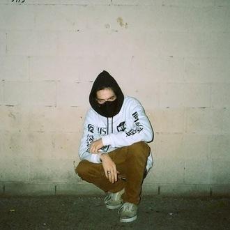 sweater bones rap vhs wifi maxwell dope xavier wulf jacket