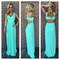 Mint zig zag texture maxi dress                           | dainty hooligan boutique
