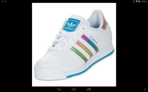 adidas superstar rainbow 38