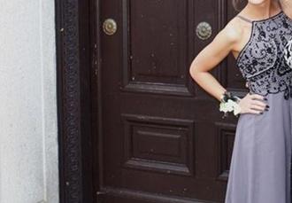 dress lilac prom dress prom lace dress floral dress black 2016 long evening gown