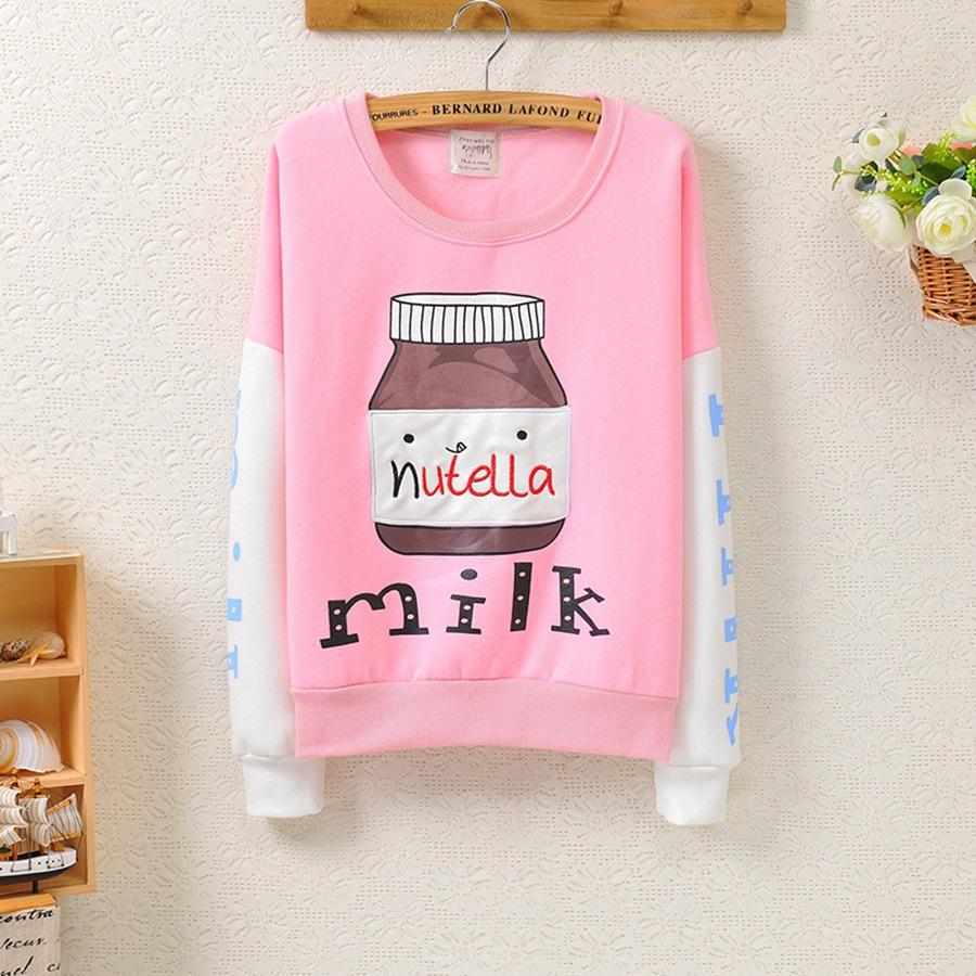 Japanese milk nutella sweatshirt · cute harajuku {street fashion} · online store powered by storenvy