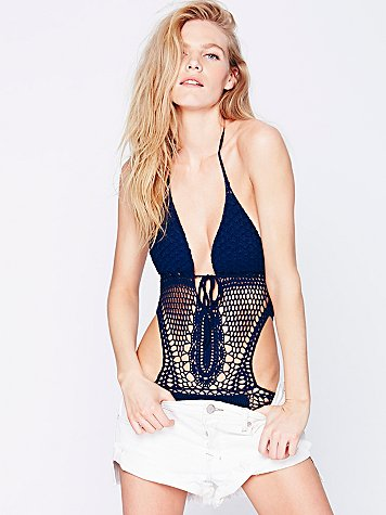 Lisa Maree  Crochet Monokini at Free People Clothing Boutique