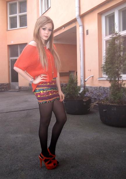 V Skirt 35