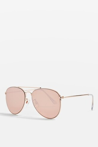 rose gold rose sunglasses aviator sunglasses gold