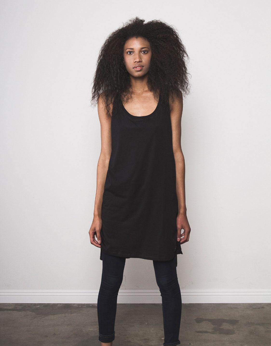 Pride clothing layered tee black