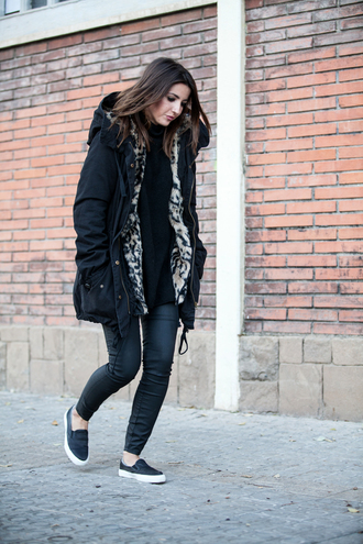 lovely pepa blogger coat vans winter coat