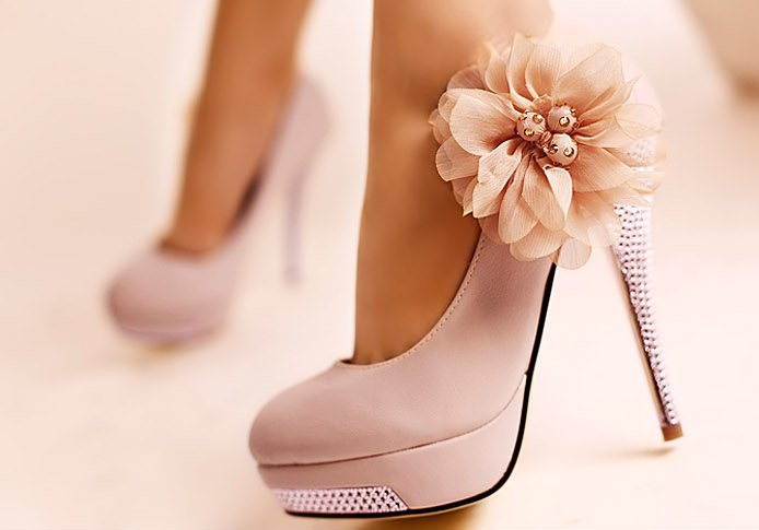 CooLcept D5614 high heel shoes wedding heels dress women heel flower diamond sexy platform 40% OFF size 35 43 factory price-in Pumps from Shoes on Aliexpress.com