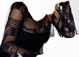 blouse long sleeves