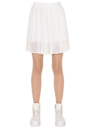 skirt mini skirt mini white