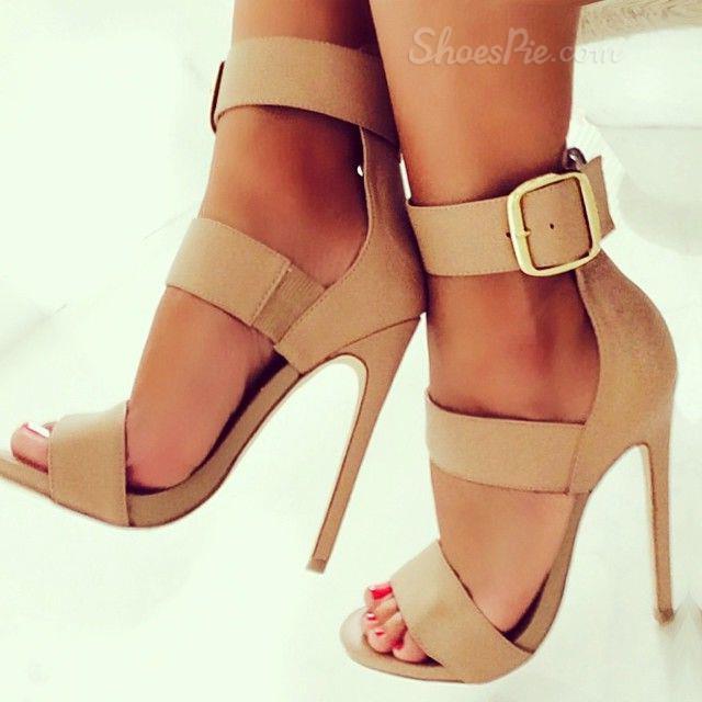 81652693454d Shoespie Buckle Ankle Strap Stiletto Sandals