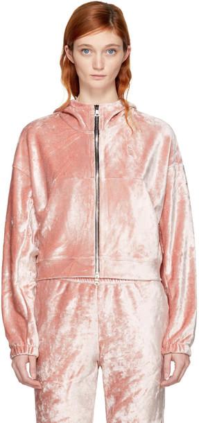 Nikelab hoodie pink sweater