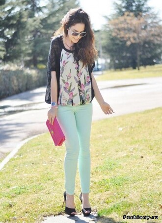 mint mint jeans mint pants jeans blouse shoes