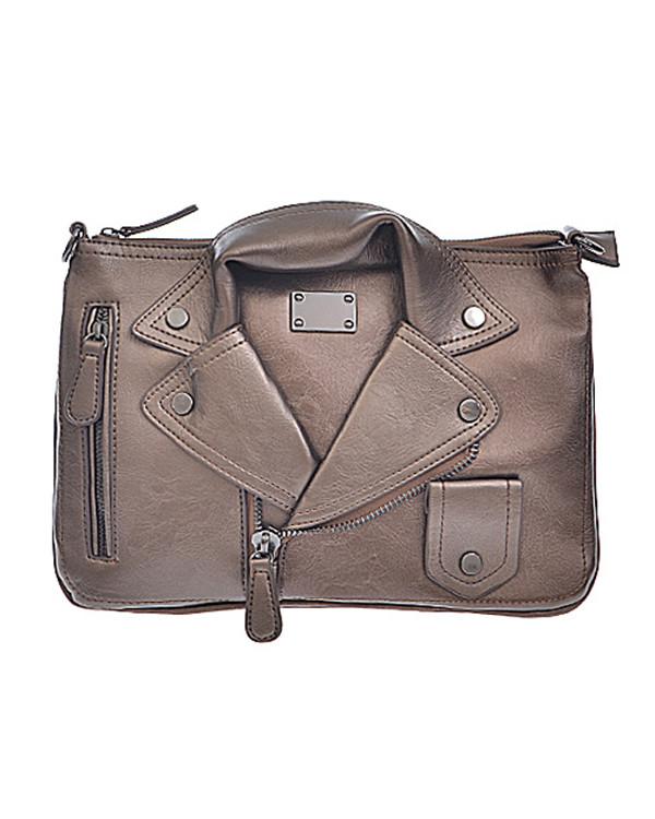 Leather Jacket Bag