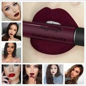 make-up,fusion,maange,lip gloss,lipstick,lips,lip liner,dark lipstick