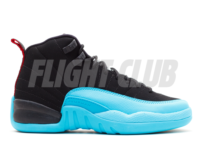 "air jordan 12 retro (gs) ""gamma blue""  