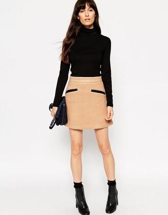 skirt mini skirt clothes asos