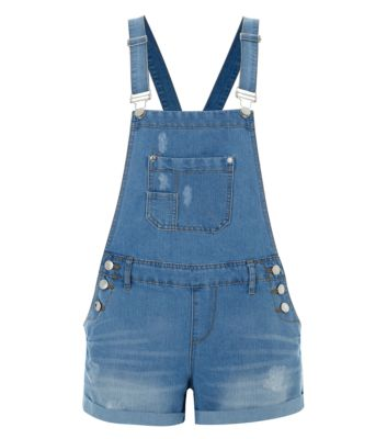 Light Blue Utility Dungarees