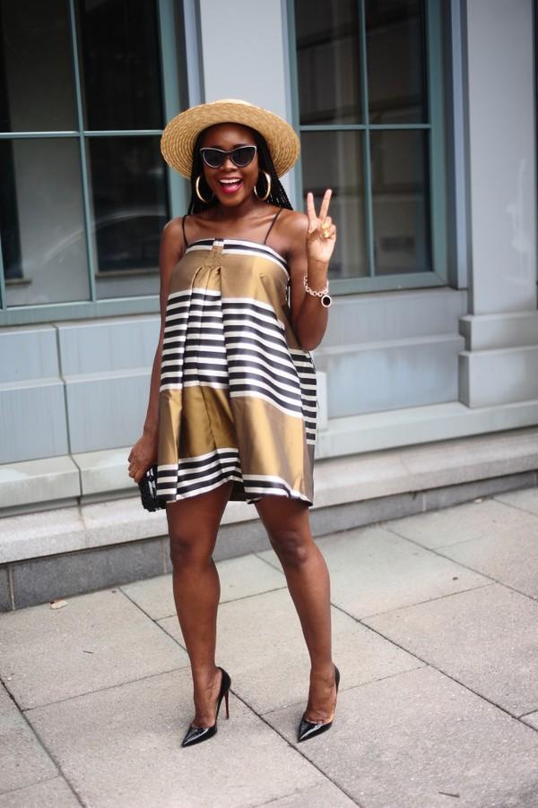 skinny hipster blogger make-up jewels hat bag dress shoes