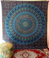 home accessory,hippie,bohemian,boho,gypsy,home decor,wall decor,wall tapestry,hippie tapestry,mandala tapestry,wall mandala art,dorm tapestry,hippy tapestry,blanket