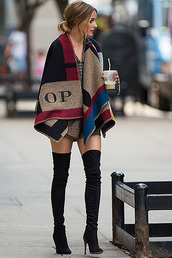 shoes,high heels,knee-high boots,black,black high heels,automn,elegant,celebrity style,burberry,cardigan,over the knee boots,boots