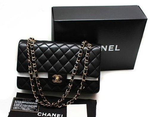 Chanel black bag