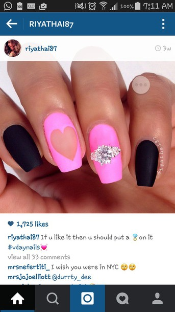 nail accessories ring stone ring engagement ring solitaire ring nail polish nails nail art