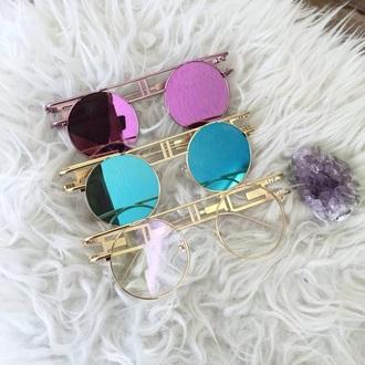 sunglasses vintage round sunglasses