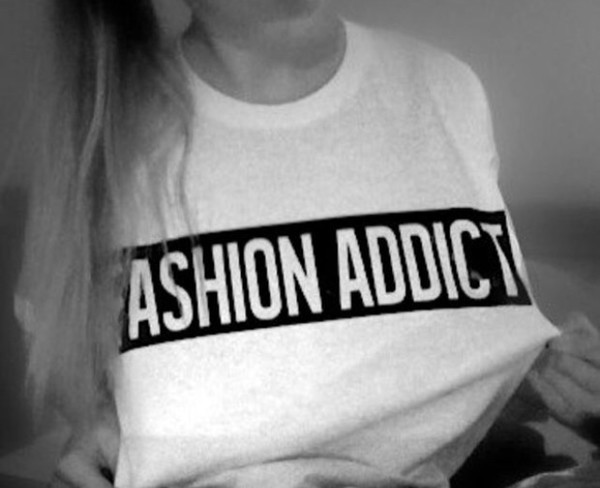 fashion addict sweater