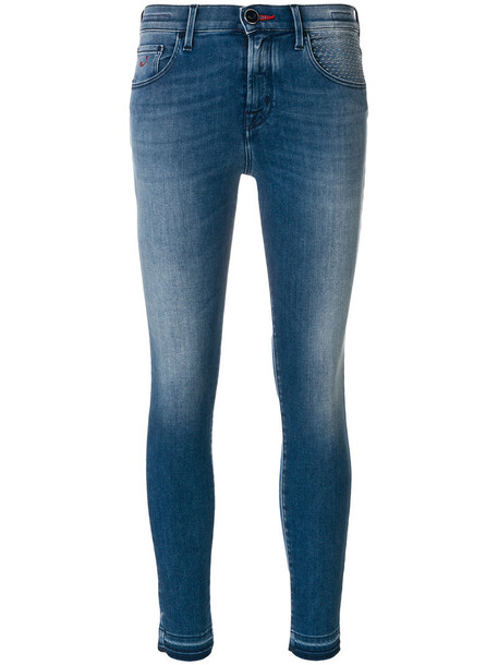 Jacob Cohen jeans cropped jeans cropped women spandex cotton blue