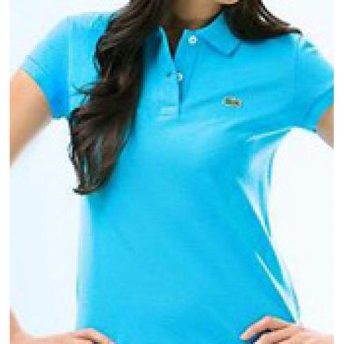 Lacoste Women 39 S Light Blue Polo Shirt