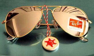 sunglasses rayban ray bans raybans mirrored sunglasses gold gold mirror mirror acessories